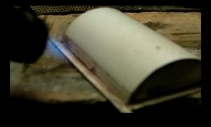 Documentaire knottekistje - Het solderen van het knottekistje